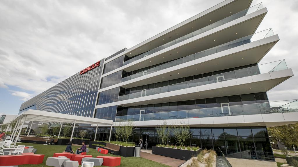 Oracle Opens Its Office Of The Future In Austin Campus