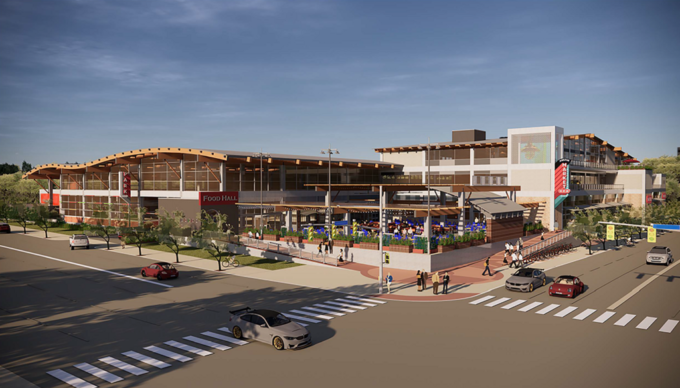 Proposed convention center expansion, H-E-B to build new